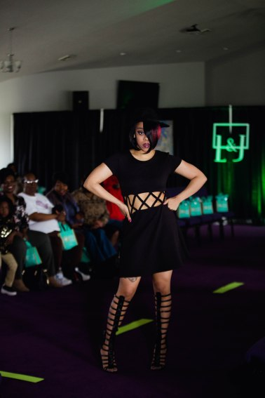 L&J Clothes hosted their first fashion show on April 14 to showcase their new spring and summer collection. L&J use recycled fabrics and materials to create new garments that have a low-impact on the environment. Reagan Allen/Reagan Lynn Photography © 2018