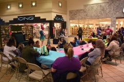 Parents and children were given snacks and greet time with Princess Troll at the Muncie Mall on April 14. Photo By Harrison Raft