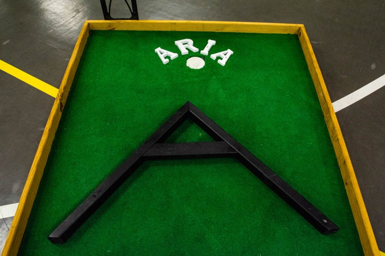 Ball State's Lambda Chi Alpha hosted their annual philanthropy event, Lambda Open, on Sunday, April 7, 2019, in the Field & Sports Complex where supporters can play a round of putt-putt for $10 per game. All money raised during the event is donated to Second Harvest Food Bank.